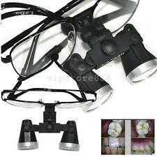 Update Dental Surgical Medical Binocular metal Loupes 3.5X 420mm Optical Glass