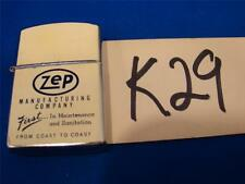 K29 VINTAGE SPESCO FLIP TOP POCKET LIGHTER ZEP MANUFACTURING Co.