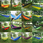 Travel Camping Outdoor Portable Parachute Nylon Fabric Hammock for Double Person