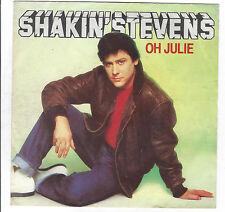 Shakin'Stevens :  Oh Julie  +  I'm Knockin'  Vinyl Single von 1981