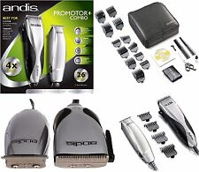 Andis Barber Professional Hair Clipper and Trimmer Combo Set Pro Kit Shaver Cut