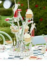 TRULY ALICE TREE CAKE STAND Alice in Wonderland Mad Hatter's Tea Party Accessory