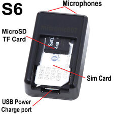 WIRELESS GSM SPY BUG MONITOR & MicroSD VOICE RECORDER SUPER SENSITIVE MICROPHONE