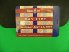 ATLANTA 1996-100 SUMMER OLYMPIC GAMES DAY 5 JULY 24,1996 OFFICIAL DAY PASS