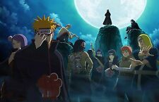 Naruto Akatsuki Complete - High Quality  Poster - 34 in x 22 in (Fast shipping)