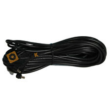 Kood Universal Male to Female Flash PC Sync Cord Straight Cable - 3m - Black