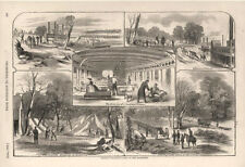 General Halleck's Army on the Tennessee    -   Civil War