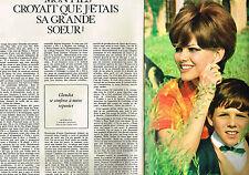 """PUBLICITE   1967   CLAUDIA CARDINALE  """"mon fils croyait que j'étais sa soeur(3 p"""
