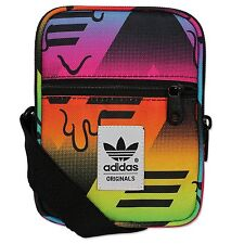 adidas originals multi colour festival mini shoulder item bag 12 x 16 x 2 cm-New