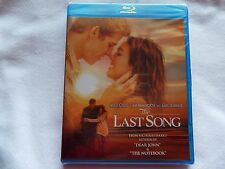 The Last Song (Blu-ray/DVD, 2010, 2-Disc Set) New, Factory Sealed