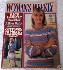 ORIGINAL VINTAGE WOMAN'S WEEKLY MAGAZINE 21st MAY 1983