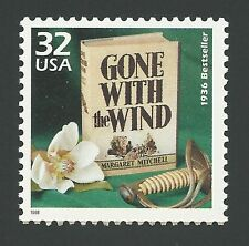 First Edition Margaret Mitchell 1936 Bestseller Gone With the Wind Book Stamp!