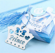 FD3383 Prince Crown Creative Exquisite Alloy Bookmarks With Ribbon Box Gift ☆