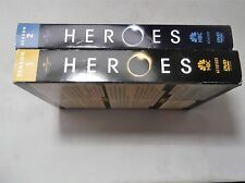 Season One & Two of Heroes 7 DVD Box Set, Original Copyright, 2007, Excellent