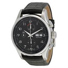 Hamilton H32716839 Jazzmaster Maestro Chronograph Black Dial Watch NWT BOX PAPER
