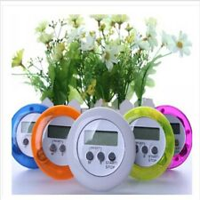 Stylish Multi Plastic Kitchen Round Electronic Countdown Timers Random Color