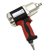 "1/2"" Twin Hammer Composite Air Pneumatic Impact Wrench Max Torque 700Ft/Lb Tools"