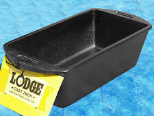 1 Lodge Logic L4LP3 Cast Iron Bread Pan Loaf Pan Pre-seasoned FREE SHIPPING New