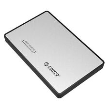 "ORICO USB 3.0 2.5"" Inch SATA HD Hard Drive Disk HDD External Enclosure - Silver"