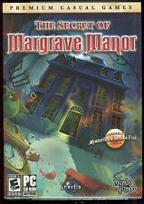 Secret of Margrave Manor PC Video Game Brand New & Factory Sealed w Slipcover