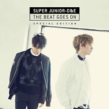 Super Junior  D&E -[THE BEAT GOES ON]Special Edition CD+Poster Sealed K-POP D&E