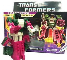 Free Shipping Transformers G1 Headmaster Skullcruncher Reissue Toy