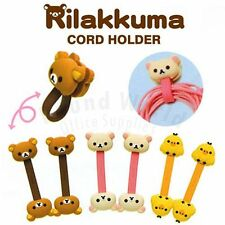 San-X Rilakkuma Relax Bear 2pcs iphone 6 6S Plus Headphone Cord Holder Organizer
