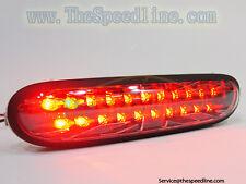 06 07 08 09 10 MINI ONE Cooper D R56 SMOKE Black LED Rear Bumper Fog Lamp Light