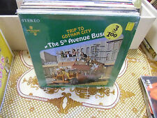The 5th Avenue Buses Trip To Gotham City LP Movietone Records VG+ IN Shrink