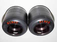New Kings Racing Go Kart Tires & New Black Anodized WMS Wheels