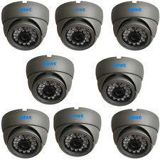 8 x CCTV Dome Camera CMOS 960H 800TVL High Resolution 20M Infrared Vandalproof
