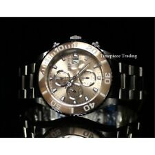 Invicta Pro Diver Swiss Valjoux 7750 Automatic Rose Gold Dial SS Men's Watch