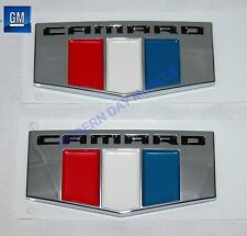 2016 Camaro Front Fender Self Adhesive Emblems  NEW GM PAIR  152X2