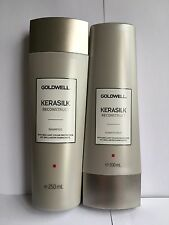 GOLDWELL KERASILK RECONSTRUCT SHAMPOO AND CONDITIONER