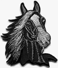 Horse colt bronco filly mustang pony stallion steed applique iron-on patch S1011