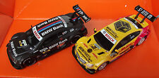 Carrera GO DTM Mercedes Coulthard vs BMW Spengler Rennbahn Auto Neu 61275 61273