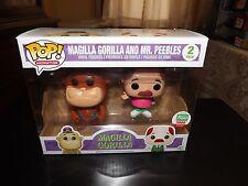 POP! ANIMATION, MAGILLA GORILLA & MR. PEEBLES LIMITED ED. VINYL FIGURE SET, NIB