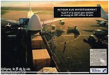 Publicité Advertising 1992 (2 pages) France Telecom