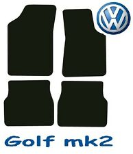 Volkswagen Golf mk2 Tailored Deluxe Quality Car Mats 1983-1992 Hatchback 3dr 5dr