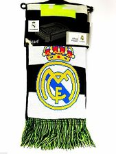 Official Licensed Real Madrid Soccer Warm Large Scarf Reversible New!