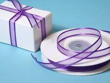 BUY 1 GET 1 FREE*****  5 Metres Satin Edge Organza Ribbon 10mm wide