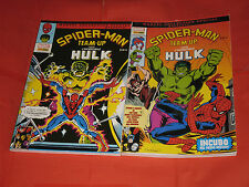 MARVEL COLLECTION SPECIAL-SPIDERMAN TEAM UP HULK TM -RARA SERIE COMPLETA-N°1/2