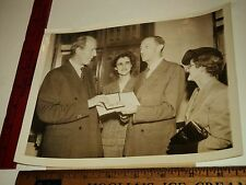 Rare Historical Orig VTG Lord Halifax Leonard Leach British Medal Award Photo