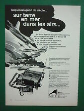 7/1980 PUB MBLE EMETTEUR HF PRC/VRC-600 ARMEE BELGE DRONE EPERVIER FRENCH AD