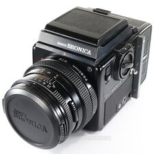 Zenza BRONICA SQ-Ai + ZENZANON PS 80mm + Waist Llevel Finder + 120 Back & Crank