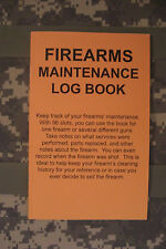 Do Everything Manuals: Firearms Maintenance Log Book