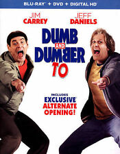 Dumb and Dumber To (Blu-ray/DVD, 2015, 2-Disc Set)