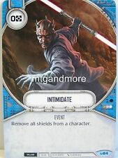 Star Wars Destiny - 2x #084 Intimidate - Awakenings