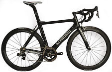 L 55 STRADALLI FAENZA AERO CARBON FIBER ROAD BIKE SRAM RED ETAP 22  E TAP BLACK