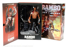 HOT TOYS 1/6 RAMBO FIRST BLOOD II JOHN J. ACTION FIGURE STATUE ROCKY STALLONE